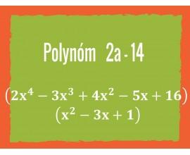 Polynóm