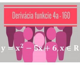 Derivácia funkcie