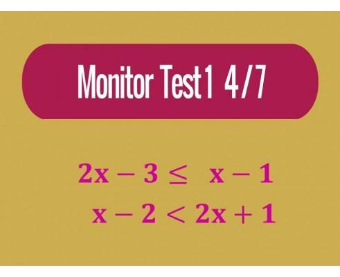 Monitor - Test 1