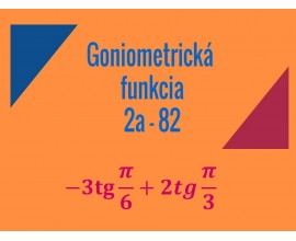 Goniometricke funkcie