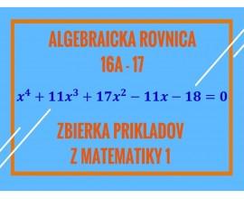 Algebraická rovnica
