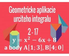 Geometrické aplikácie Určitého integrálu, Nevlastný integrál