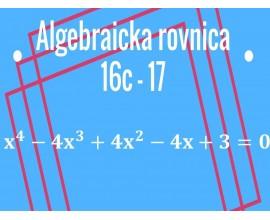 Polynómy. Algebraická rovnica
