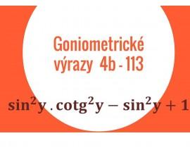 Goniometricke vyrazy