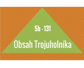 Obsah trojuholníka