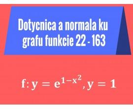 Dotyčnice a normály ku grafu funkcie
