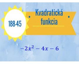 Kvadratická funkcia