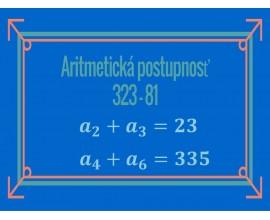 Aritmetická postupnosť