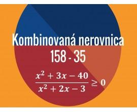 Kombinovaná nerovnica