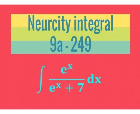 Neurčitý integrál